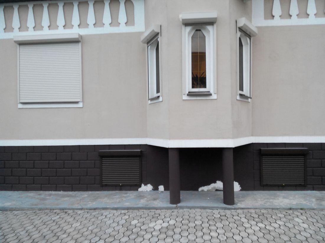 Стальные рольставни Купить рольставни на окна из стальных