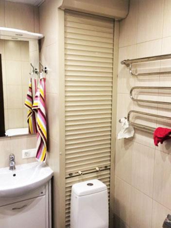 сантехнические рольставни в туалет или ванную
